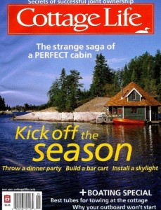 "Trails End Cottages in ""Cottage Life"" magazine"